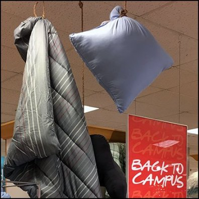 Back-to-Campus Linen Display Feature