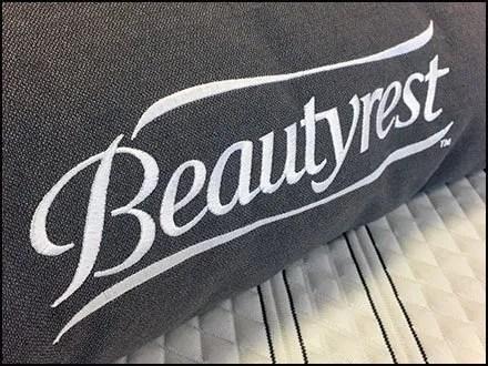 Color Coded Beautyrest Pillow Merchandising