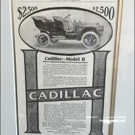 Cadillac Brand Vintage Advertising Framed 2