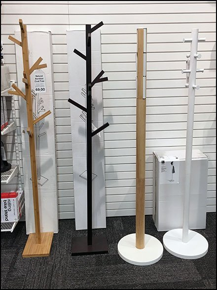 Container Store Collection of Clothes Trees