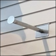 Slatwall Faceout Finial for Clothes Hangers