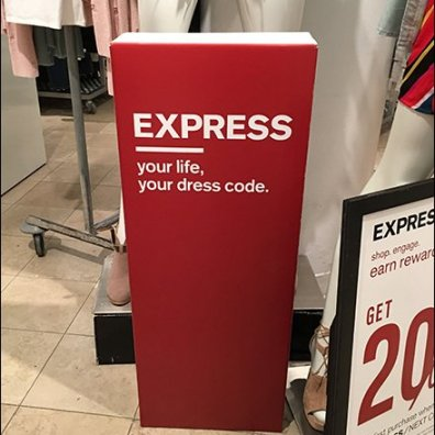 Express Promotes All-Out Lifestyle Branding