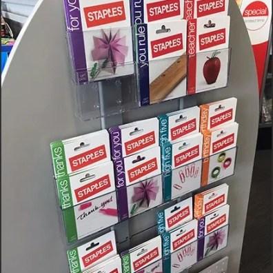 Gift Card Endcap Stap-Hanger Rack 2