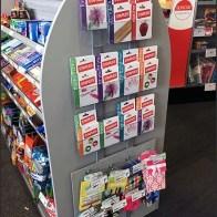 Gift Card Endcap Stap-Hanger Rack 3