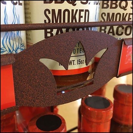 Branded Sidesaddle Rack For Hawaiian King
