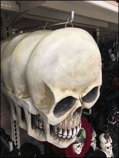 How To Hook A Halloween Skull