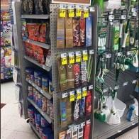 Pegboard Sidekick Display for Incense Sticks