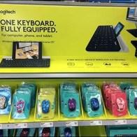 Logiteck Keyboard Corrugated Display Maximus