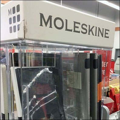 Moleskin Tower Spinner Feature