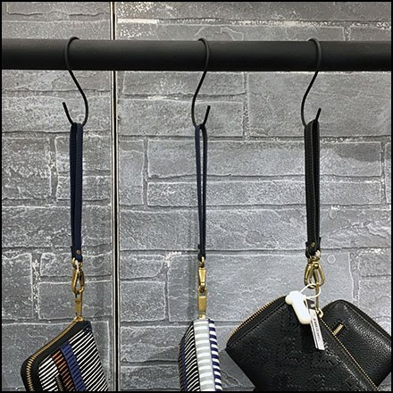 S-Hook Retail Fixtures - Patricia Nash Kee Klamp S-Hook Outfitting