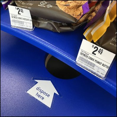 Vitamin Shoppe Free Sample Try-Me Waste Collection Square1
