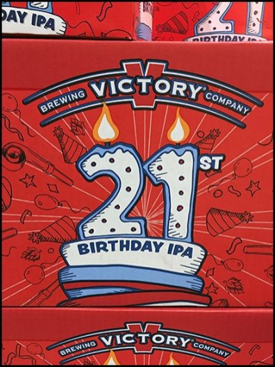 Toast With A 21st Birthday India Pale Lager