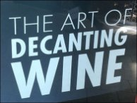 Wine Decanting Mall Advertising byRiedel