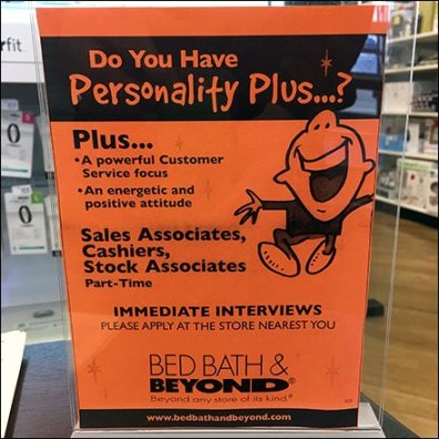 BBB Personality Plus Hiring Table Feature