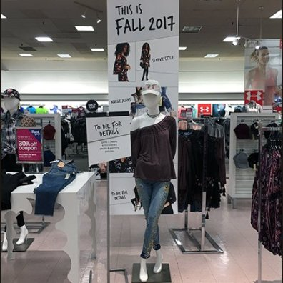 Bon-Ton Fall Fashion To Die For Display