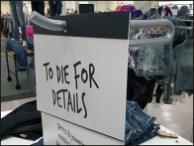 Floorstand T-Stand Sign Holder Details