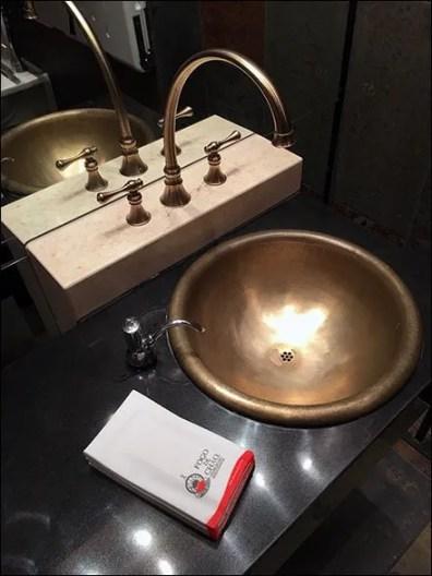 Fogo de Chao Restaurant Restroom Hand Towel