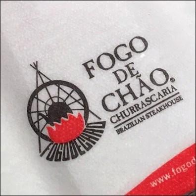 Brazilian Fogo de Chao Restaruant Restroom Hand Towel Feature