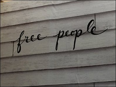 Free People Departmental Branding