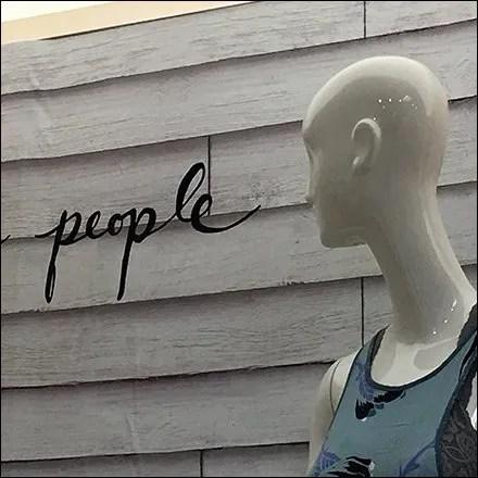 Free People Departmental Branding