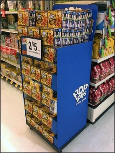 Halloween Edition Pop Tarts Display Rack