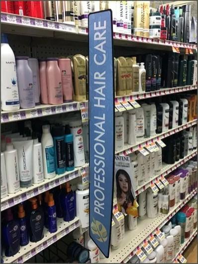 Hair Care Aisle Category Definition