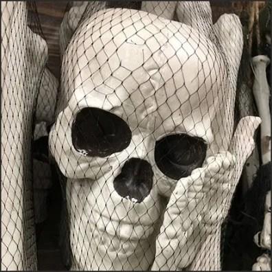Halloween Bone Mesh Bag Merchandising By Utility Hook Feature