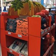 Halloween Throw Pillow Pallet Display 2