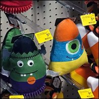 Halloween Pet Toy Hook Overlay Label Holder