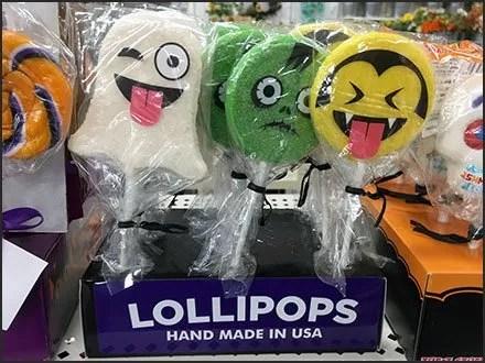 USA Handmade Halloween Lollipops Call Out