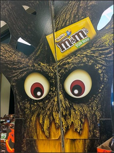 Haunted Tree Hawks M&M's And More