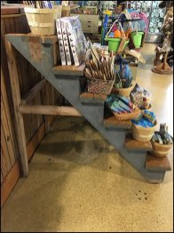 Do-It-Yourself Stairway Display Outfitting