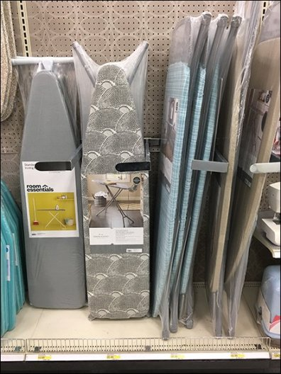 Ironing Board Wrap-Around Dividers