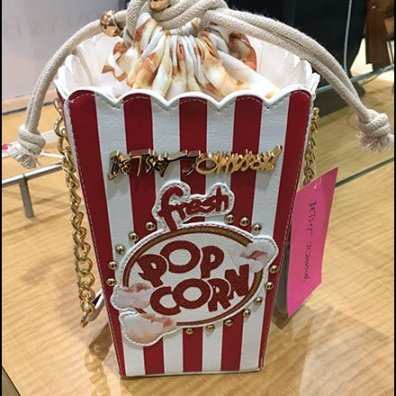 Popcorn Purse Merchandising by Betsy Johnson