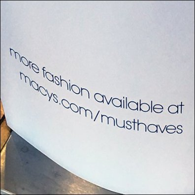 Macys Must Haves Shopping List Aux