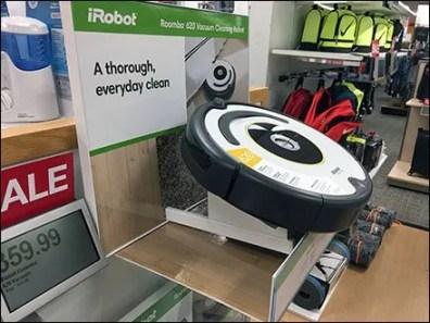 iRobot Roomba Shelf-Top Endcap Display