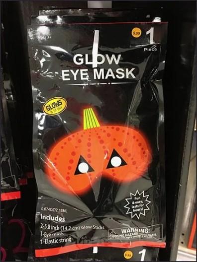 Unbranded Halloween Glow Merchandising