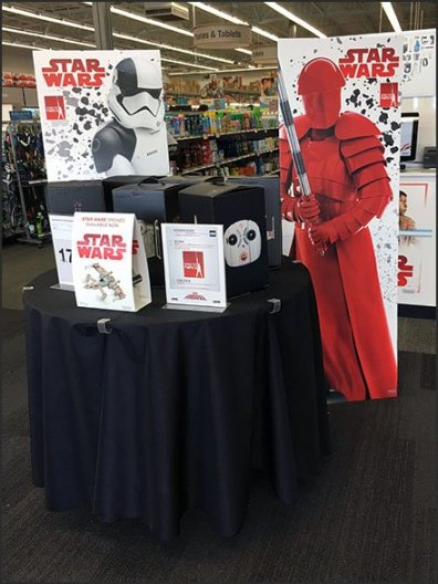 Star Wars Drones Table-Top Display 3