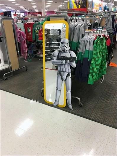 Star Wars Mylar Mirror for Children