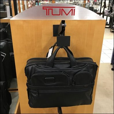 Tumi Locking J-Hook Faceout Feature