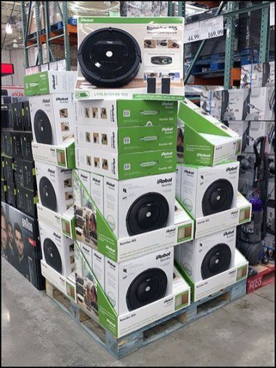 Irobot Roomba 805 Vacuum Pallet Merchandising Fixtures