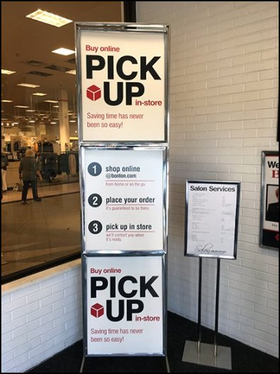 Online Shopping In-Store Pick Up Simple as 1-2-3