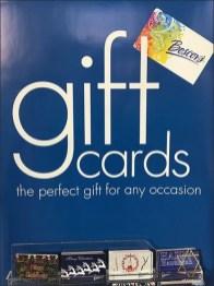 Christmas, Hanukkah, All Occasion Gift Card Display