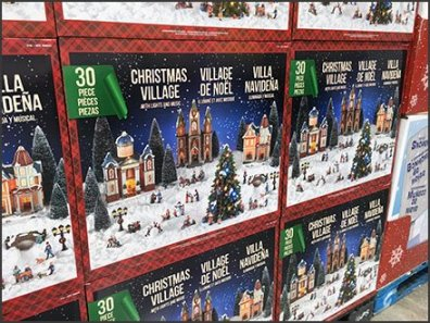 Costco Multilingual Christmas Village In A Box 2