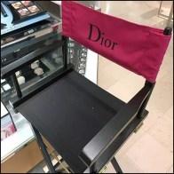 Dior Cosmetics Directors Chair Feature