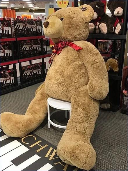 FAO Schwarz $1,000 Teddy Bear in XL 3