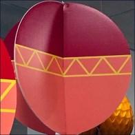 FAO Schwarz Cardboard Balloon Inflatables