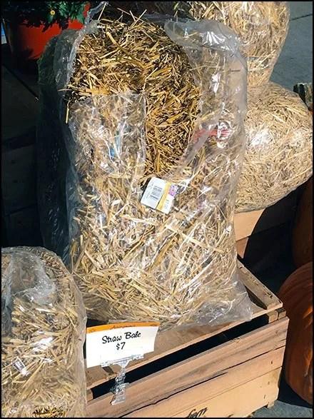 Fall Straw Bale Merchandising Crescendo