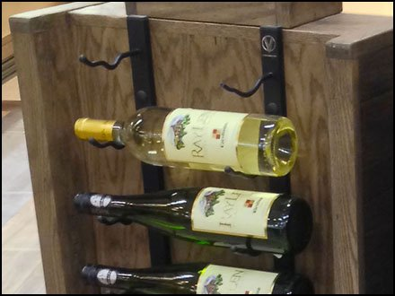 Fine Wine Display By The Bottle