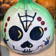 Scarey Halloween Painted Pumpkins Ready-to-Go